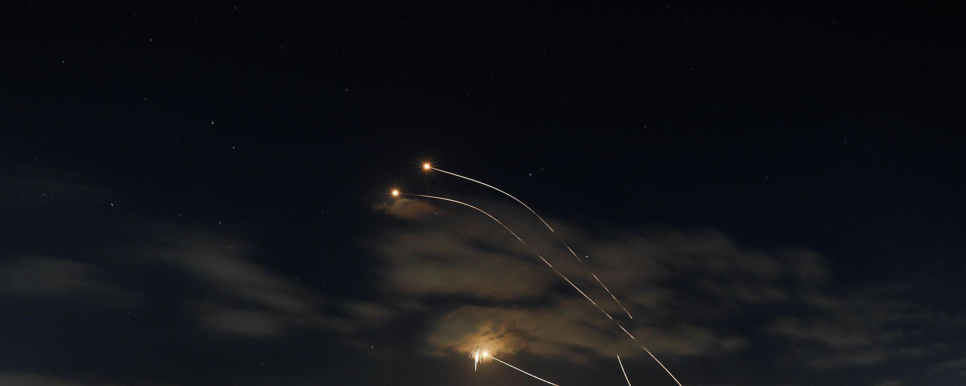 Israelisches Raketenabwehrsystem im Einsatz (Archivbild) - SNA, 1920, 11.09.2021