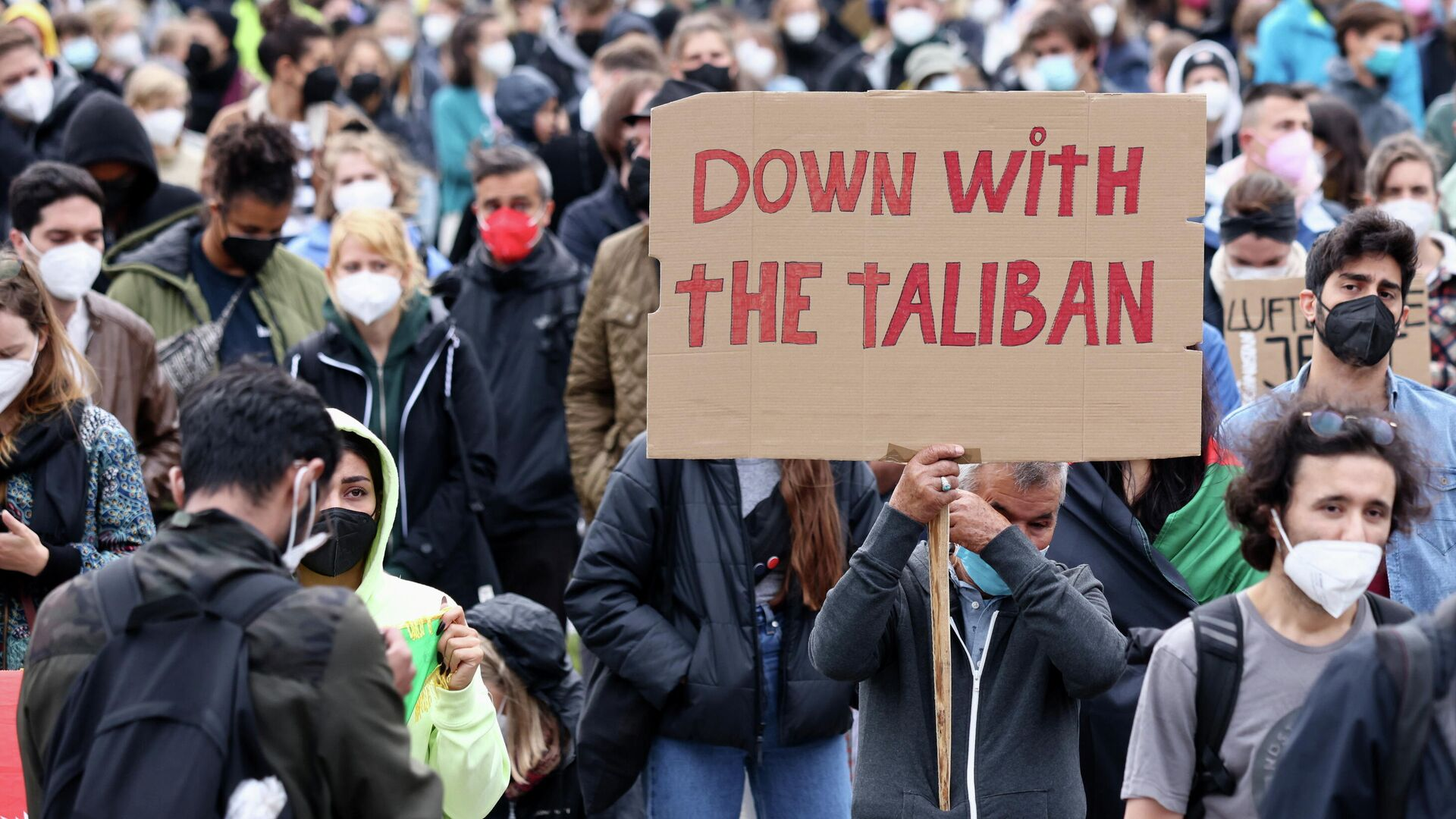 Down with the Taliban -  Nieder mit den Taliban - SNA, 1920, 12.09.2021