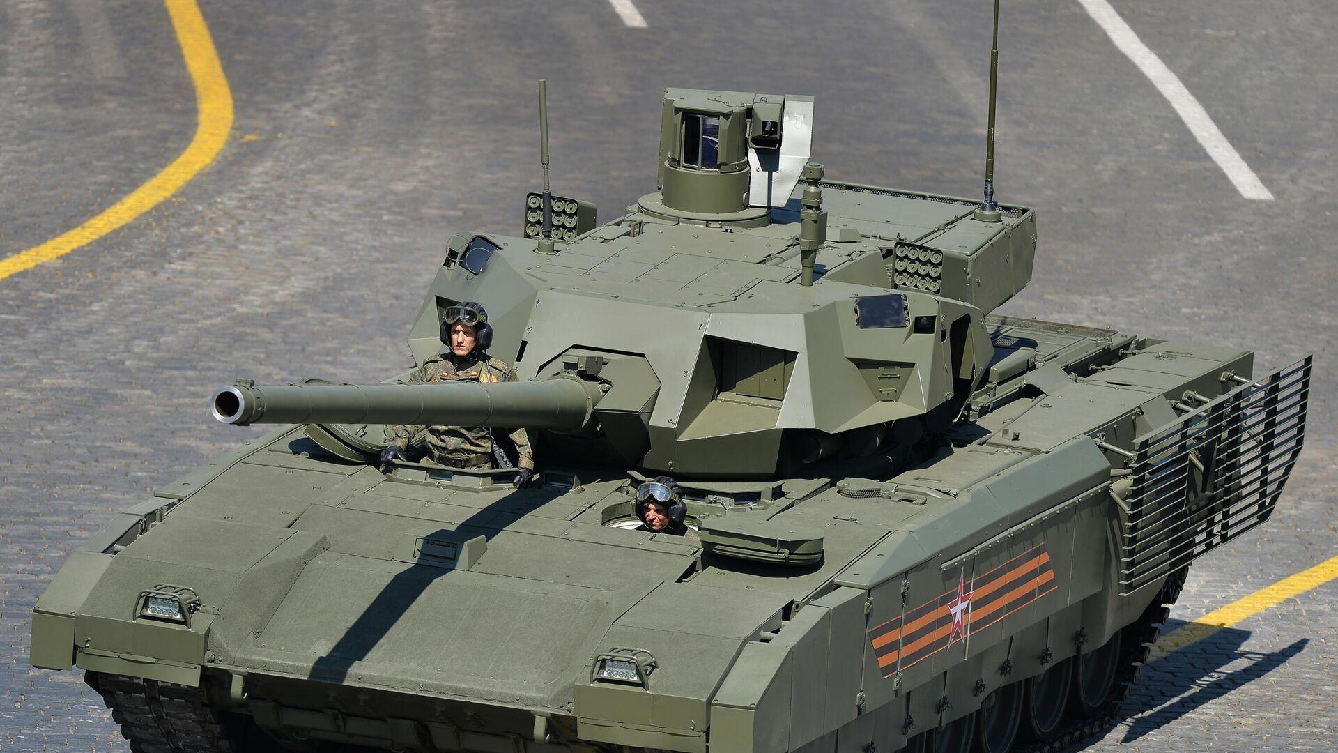 Der russische Panzer T-14 Armata - SNA, 1920, 12.09.2021