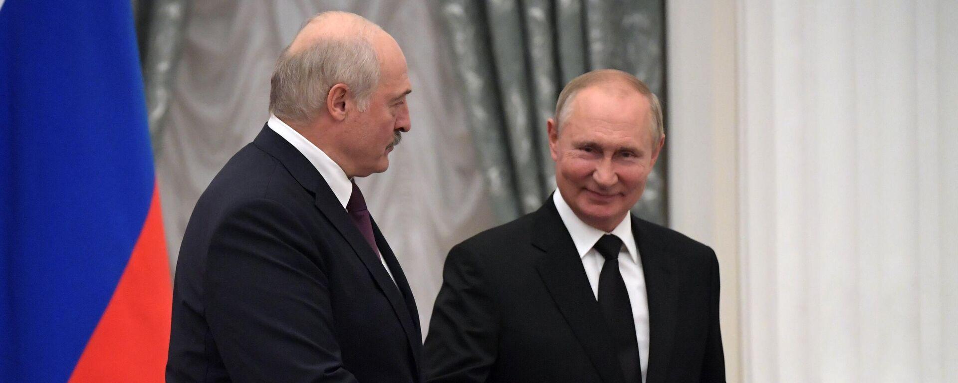 Alexander Lukaschenko und Wladimir Putin - SNA, 1920, 12.09.2021