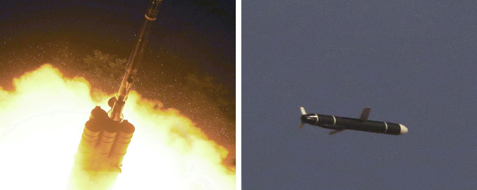 Nordkorea testet erfolgreich neue Marschflugkörper  - SNA, 1920, 13.09.2021