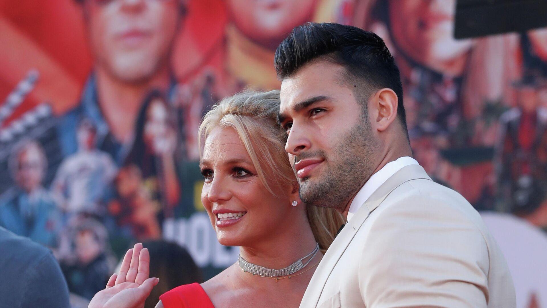 Britney Spears und Sam Asghari - SNA, 1920, 13.09.2021