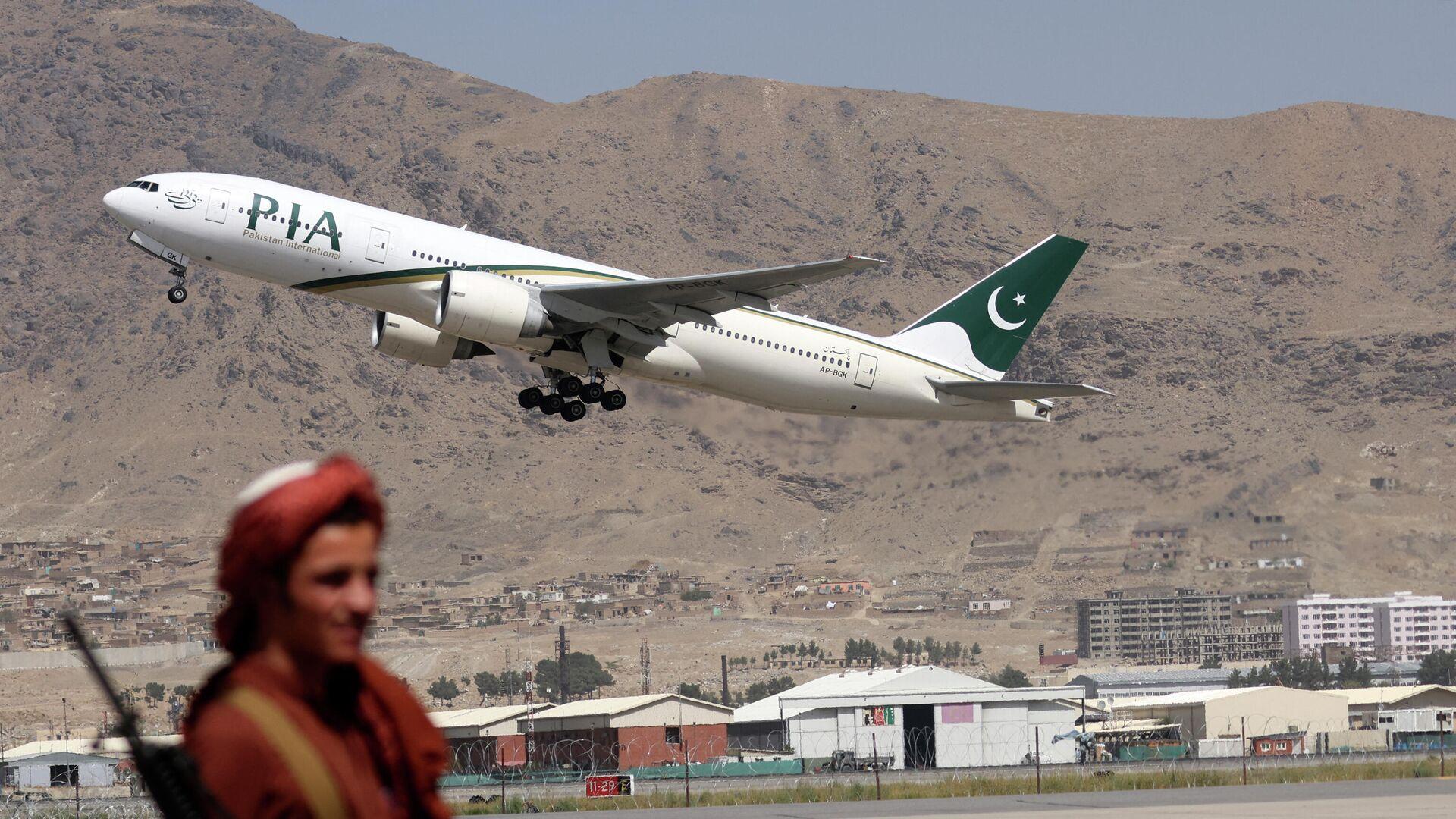 Erster kommerzieller Flug nach Machtübernahme von Taliban landet in Afghanistan - SNA, 1920, 13.09.2021