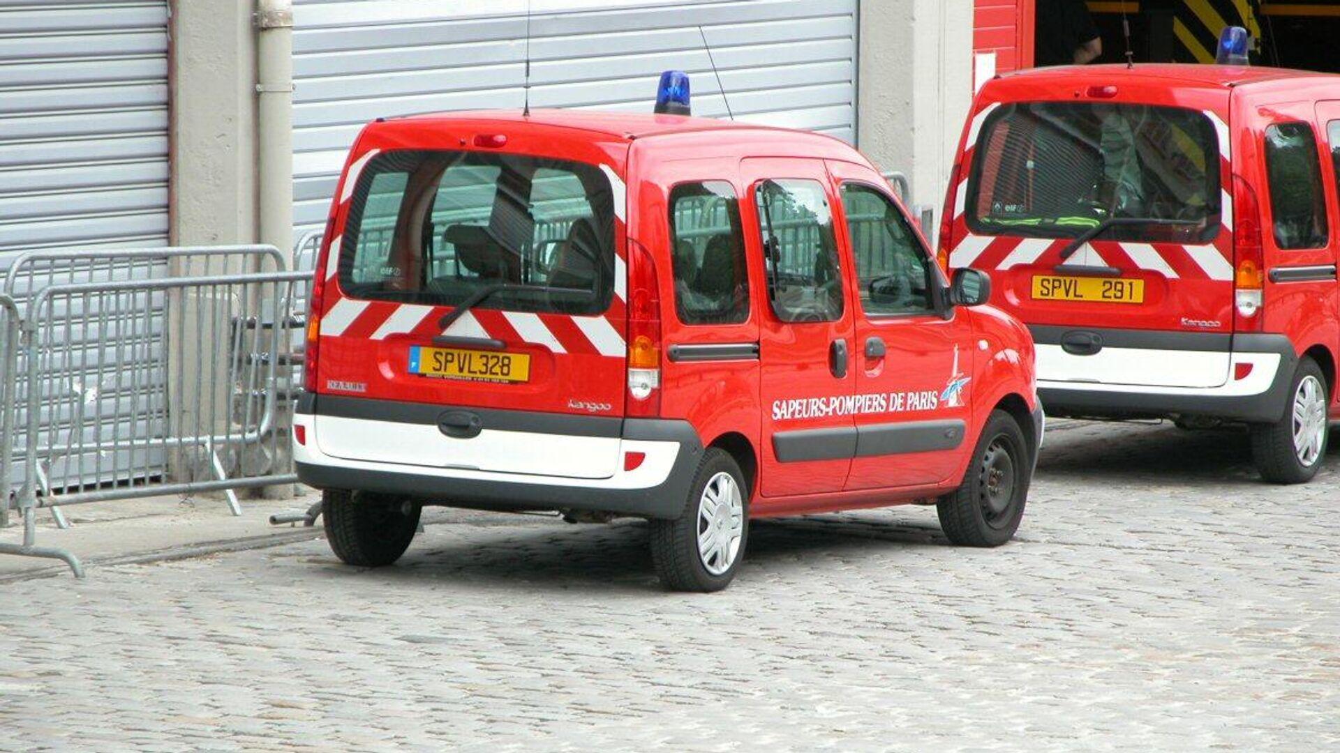 Feuerwehr in Paris (Archivbild) - SNA, 1920, 26.09.2021