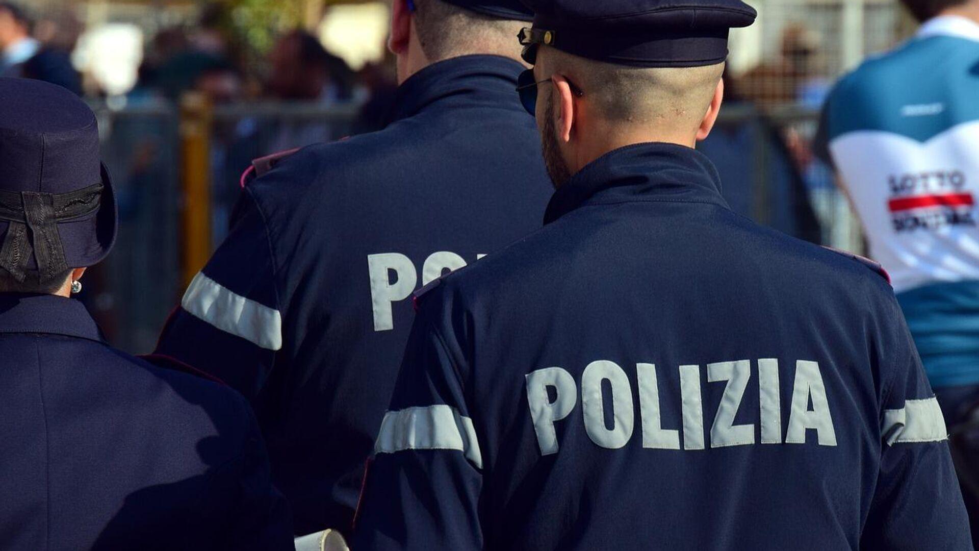 Italienische Polizisten im Einsatz (Symbolbild) - SNA, 1920, 13.09.2021