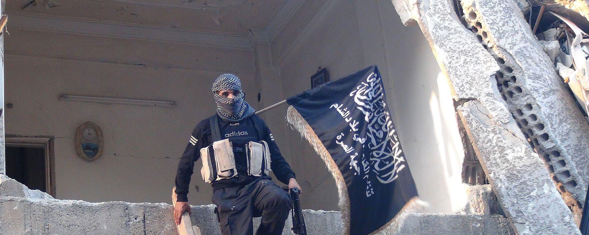 Mitglied der Terrororganisation Al-Qaida (Archivbild) - SNA, 1920, 15.09.2021