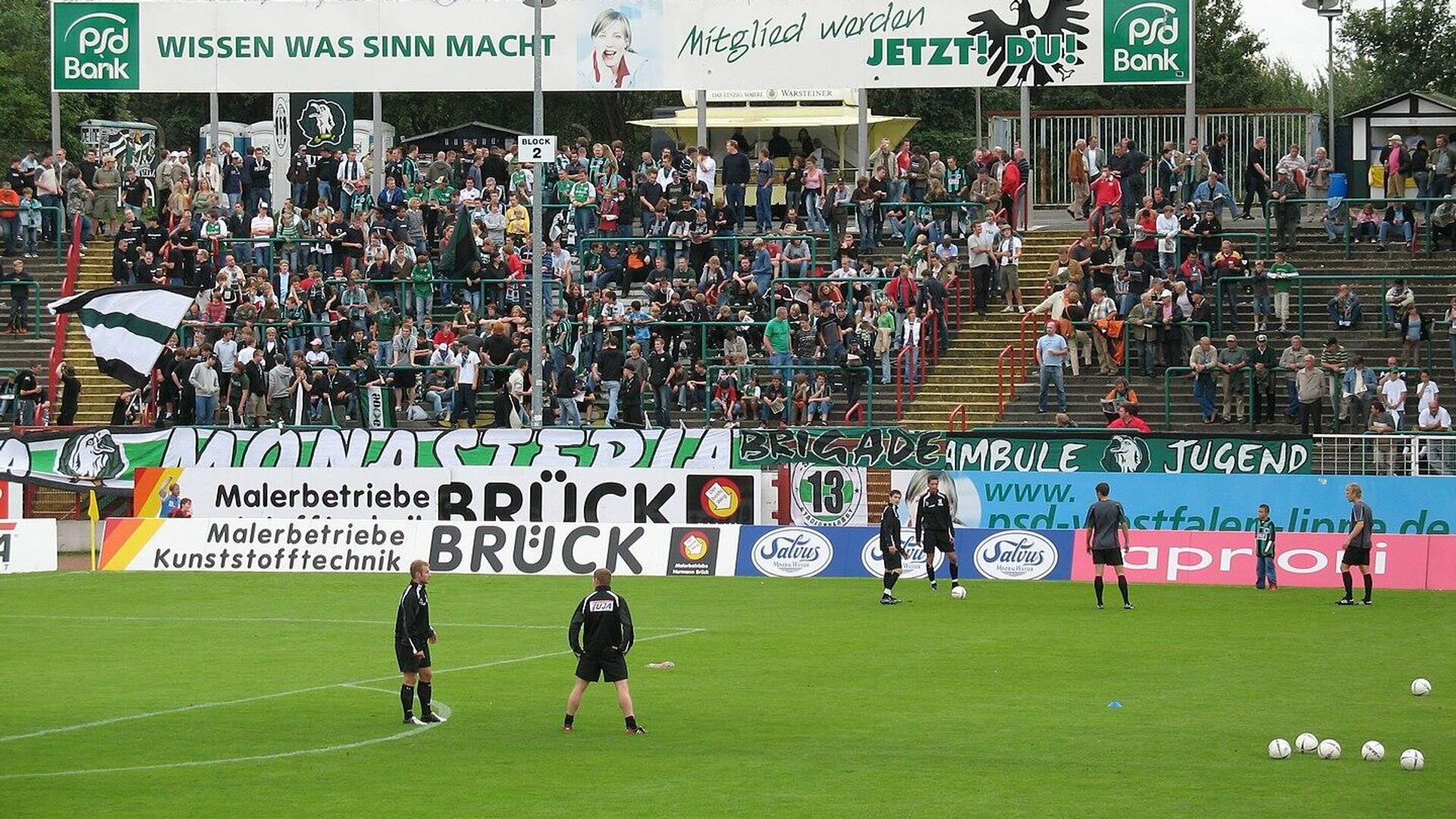 Preußenstadion in Münster (Archivbild) - SNA, 1920, 15.09.2021