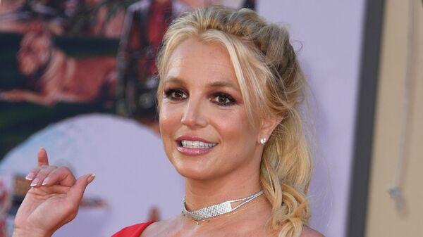 Американская певица Бритни Спирс на премьере фильма Однажды в Голливуде - SNA
