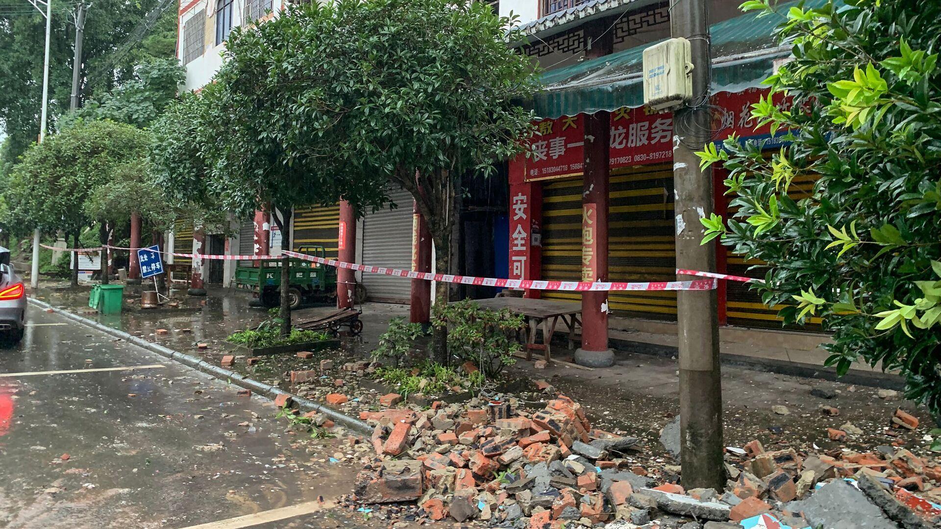 Erdbeben in China - SNA, 1920, 16.09.2021