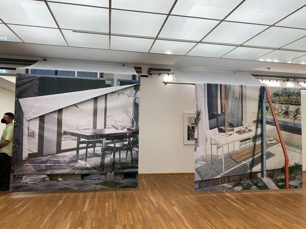 Eine Ausstellung im Hamburger Bahnhof-Museum für Gegenwart Berlin.  - SNA