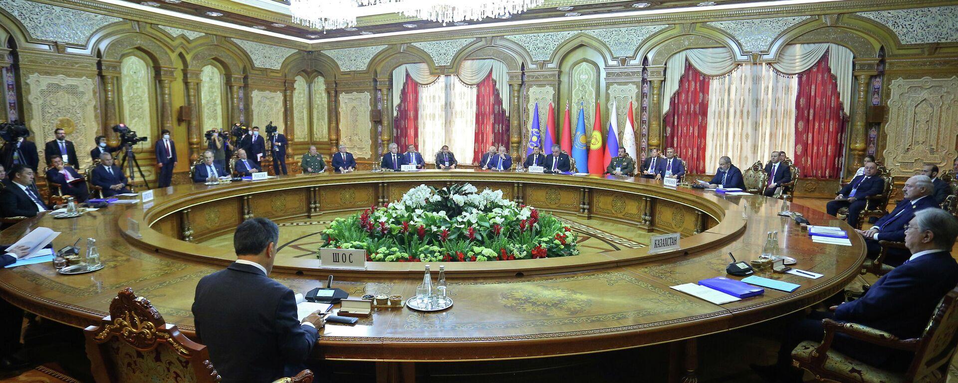 Der OVKS-Gipfel in Duschanbe (16.09.2021) - SNA, 1920, 16.09.2021