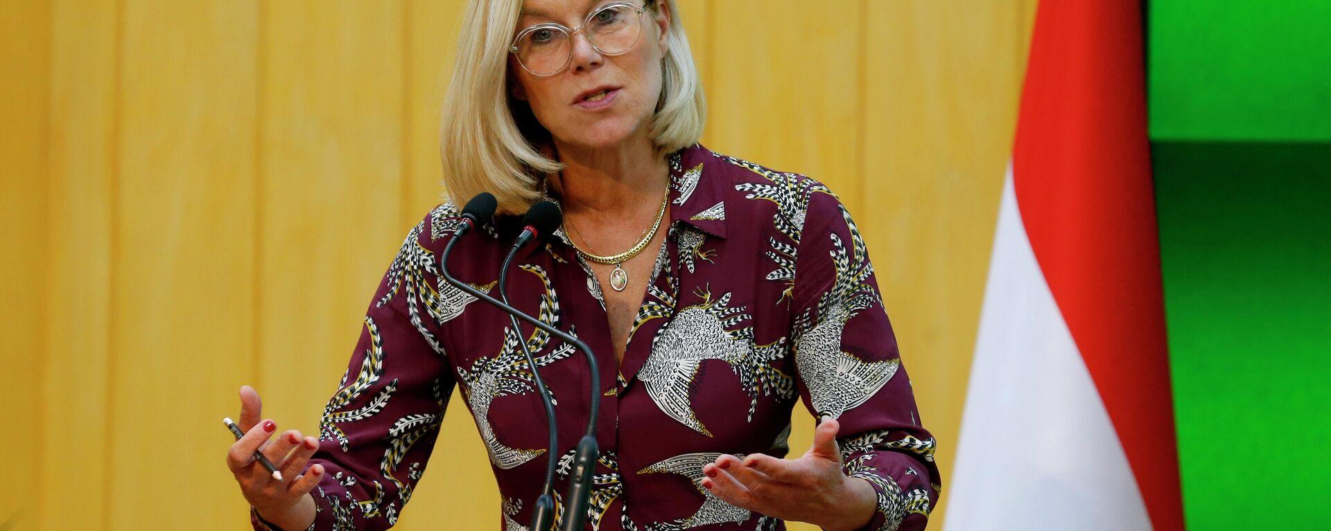 Sigrid Kaag, am 16. September 2021 zurückgetretene Außenministerin der Niederlande - SNA, 1920, 16.09.2021