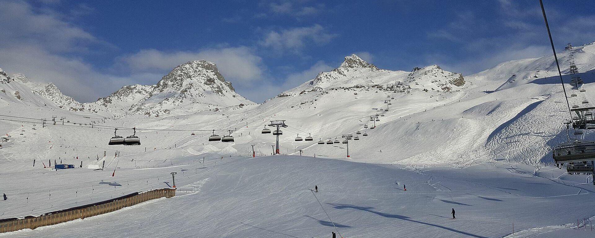 """Skigebiet """"Silvretta Arena"""" in Ischgl (2017) - SNA, 1920, 17.09.2021"""