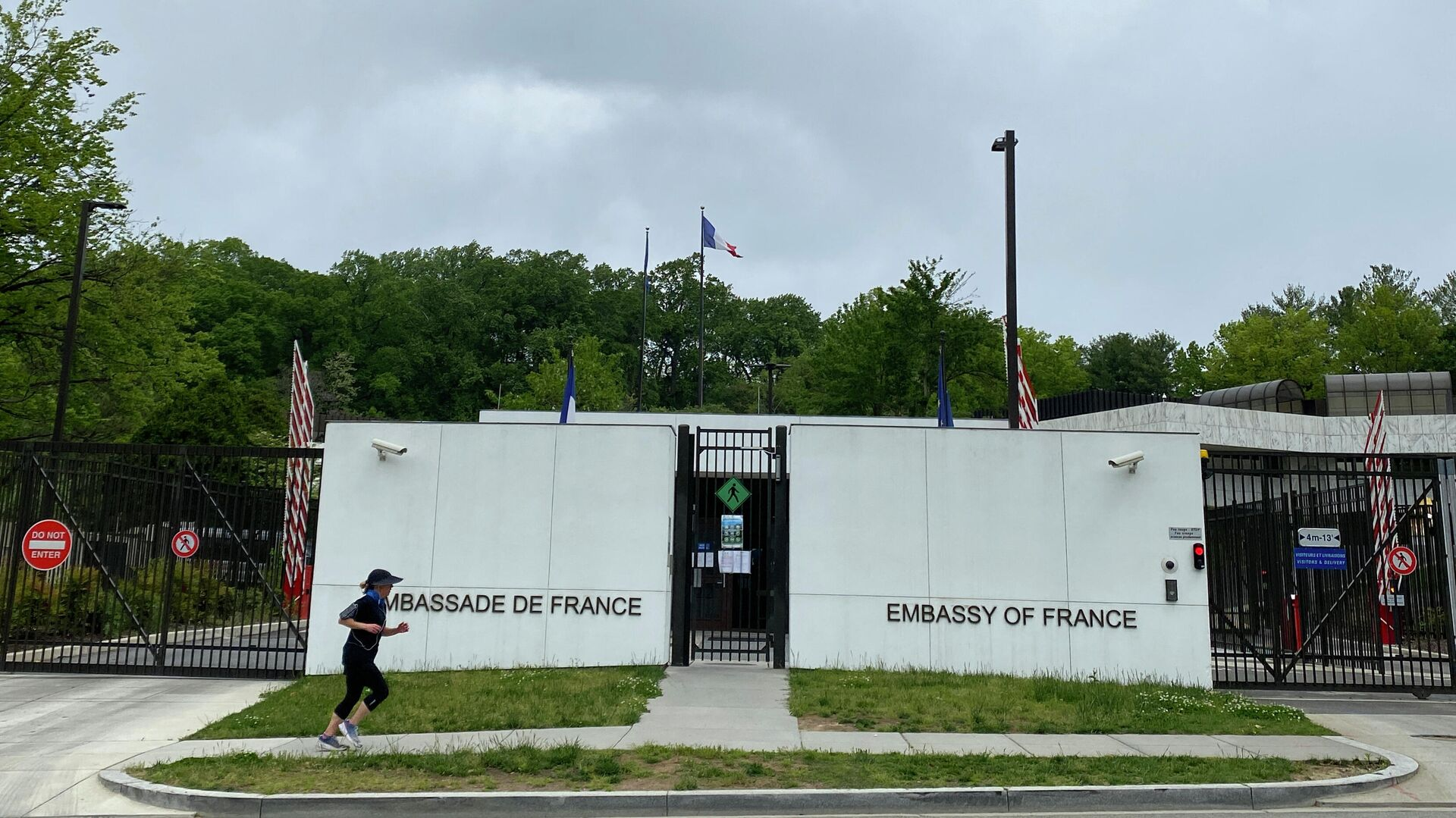 Die französische Botschaft in Washingzon, D.C. - SNA, 1920, 17.09.2021
