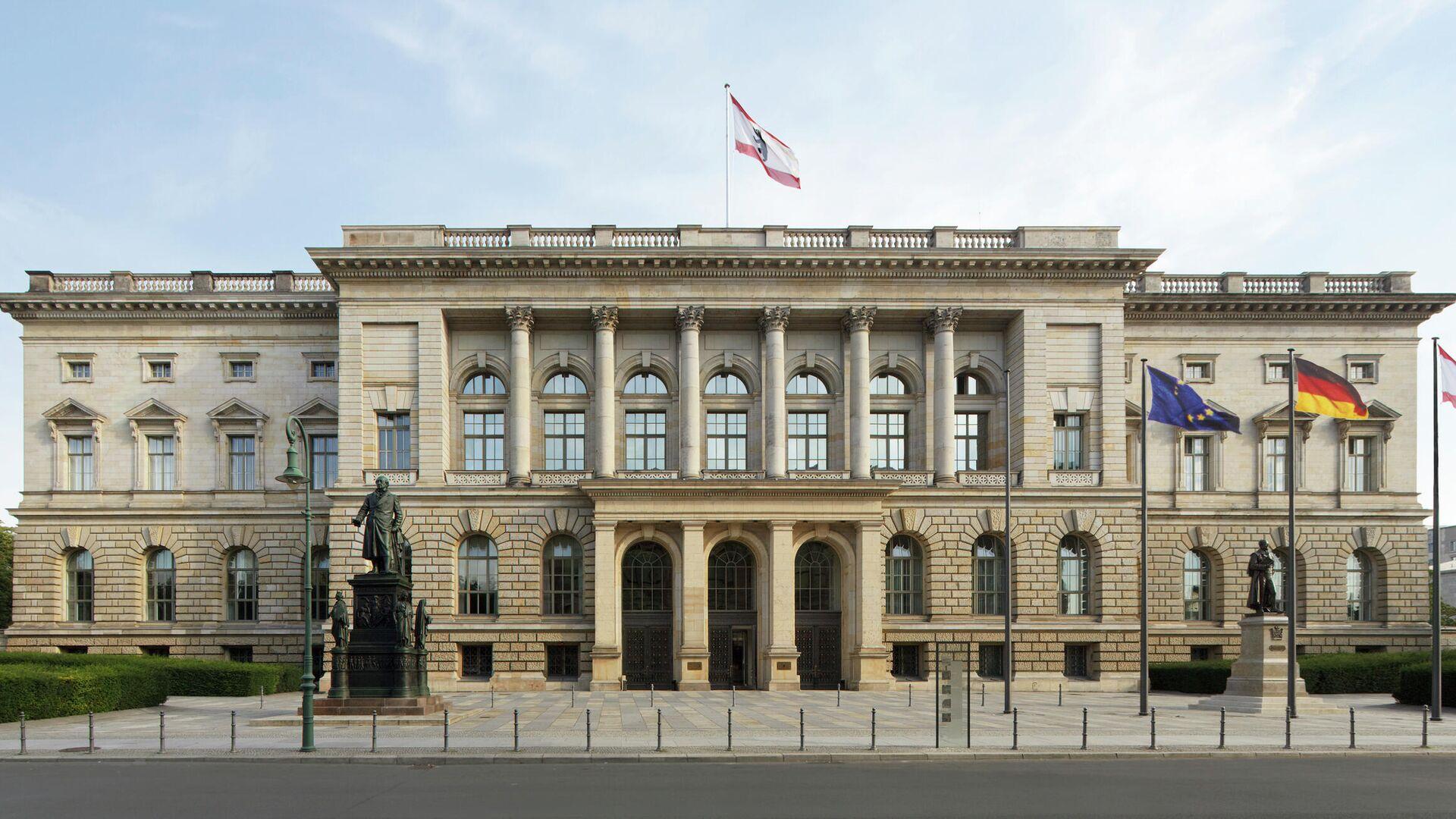 Der Haupteingangsbereich des Berliner Abgeordnetenhauses - SNA, 1920, 17.09.2021