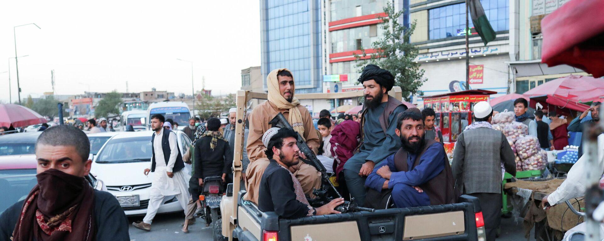 Taliban-Kämpfer in Kabul - SNA, 1920, 17.09.2021