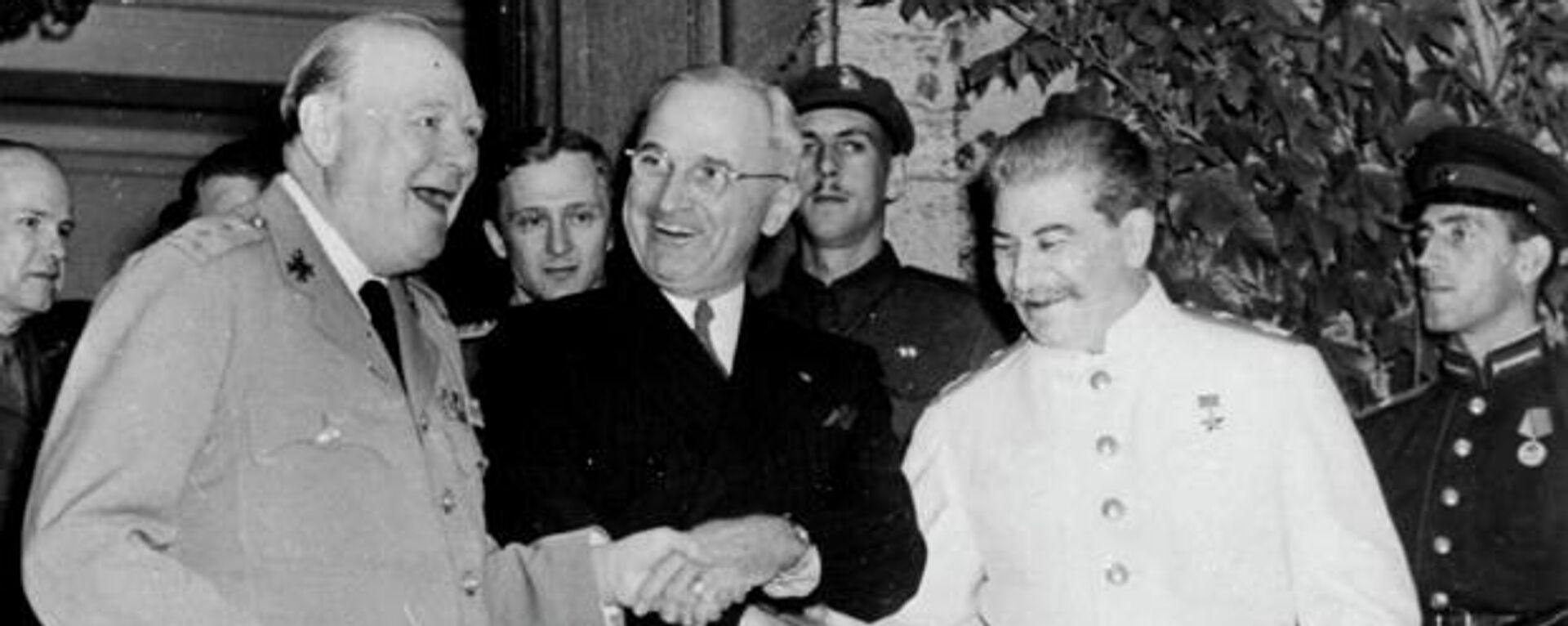 Potsdamer Konferenz (Archivbild) - SNA, 1920, 18.09.2021