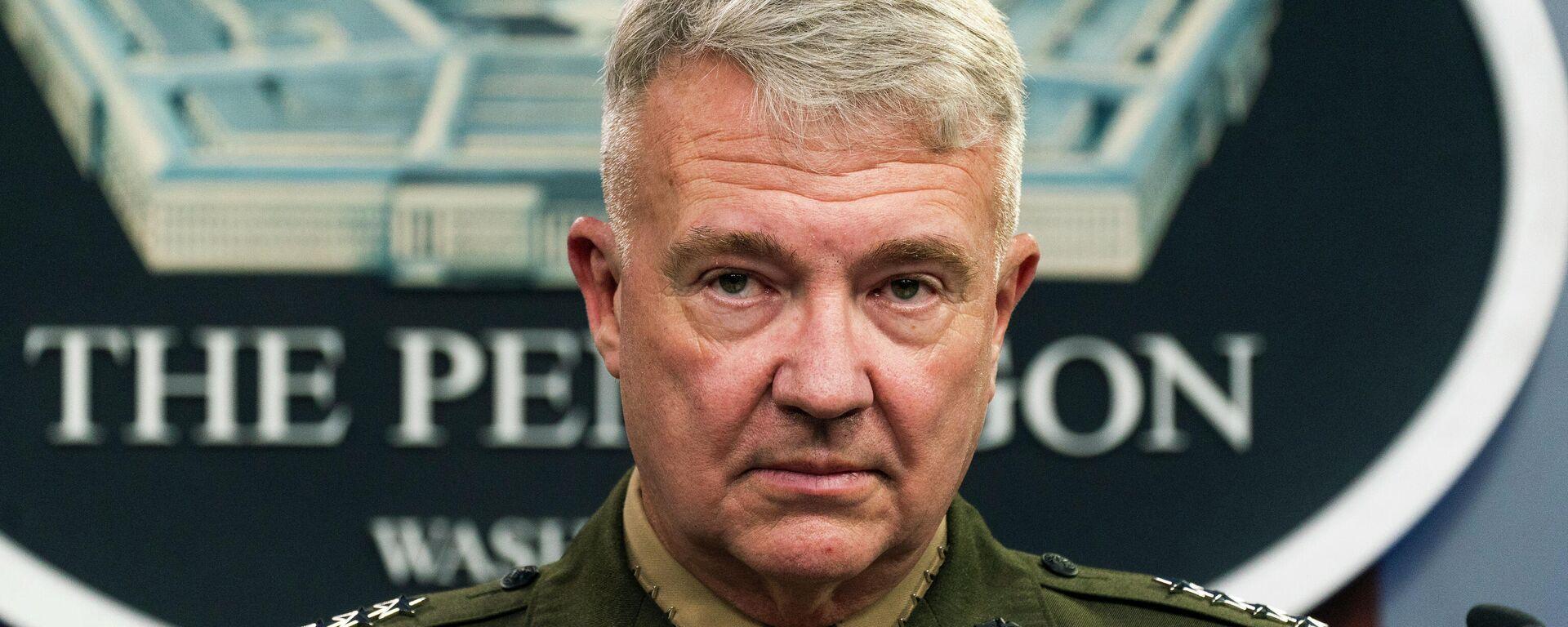 Der US-General Kenneth McKenzie - SNA, 1920, 17.09.2021