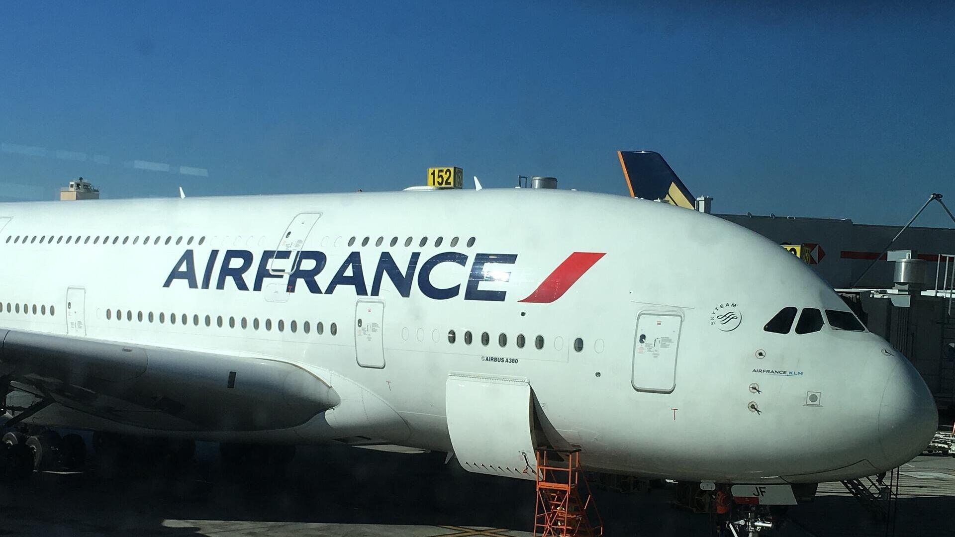 Air France-Flugzeug (Symbolbild) - SNA, 1920, 18.09.2021