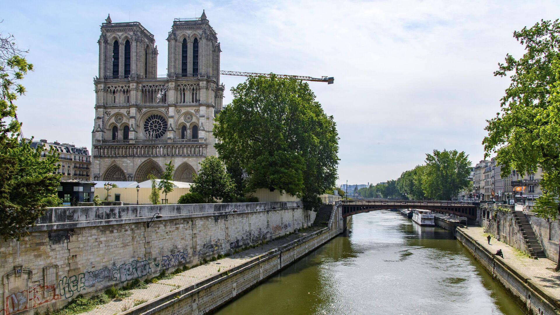 Pariser Kathedrale Notre-Dame (Archiv) - SNA, 1920, 18.09.2021