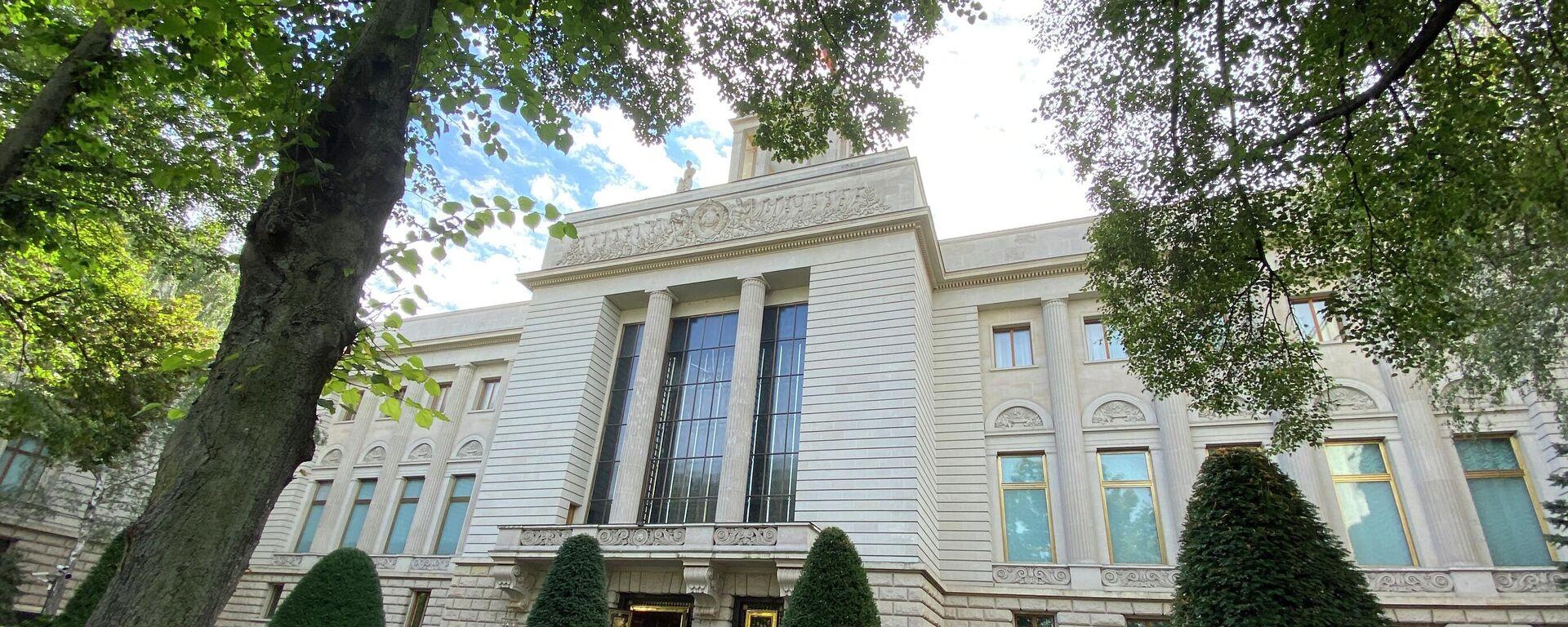 Gebäude der Russischen Botschaft in Berlin, Unter den Linden. - SNA, 1920, 19.09.2021