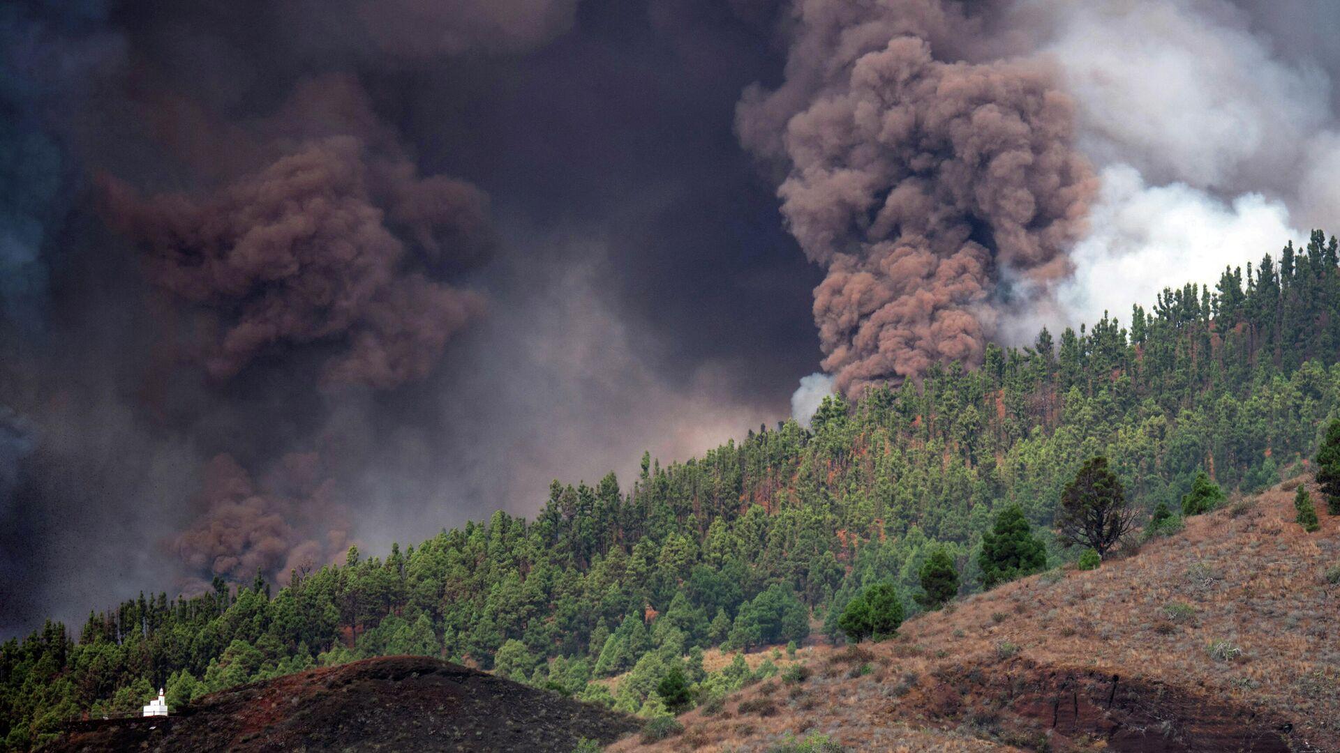 Vulkanausbruch auf Kanareninsel La Palma am 19. September - SNA, 1920, 19.09.2021