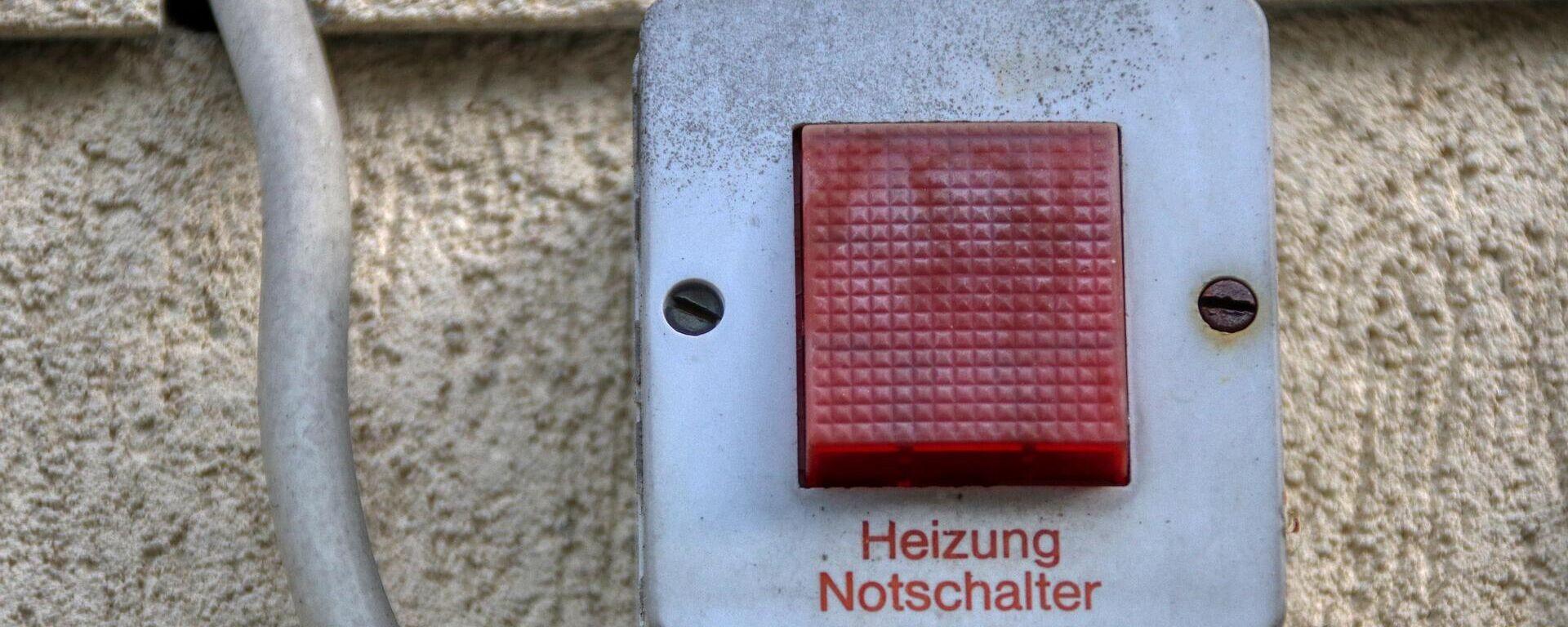Heizung Notschalter (Symbolbild) - SNA, 1920, 20.09.2021
