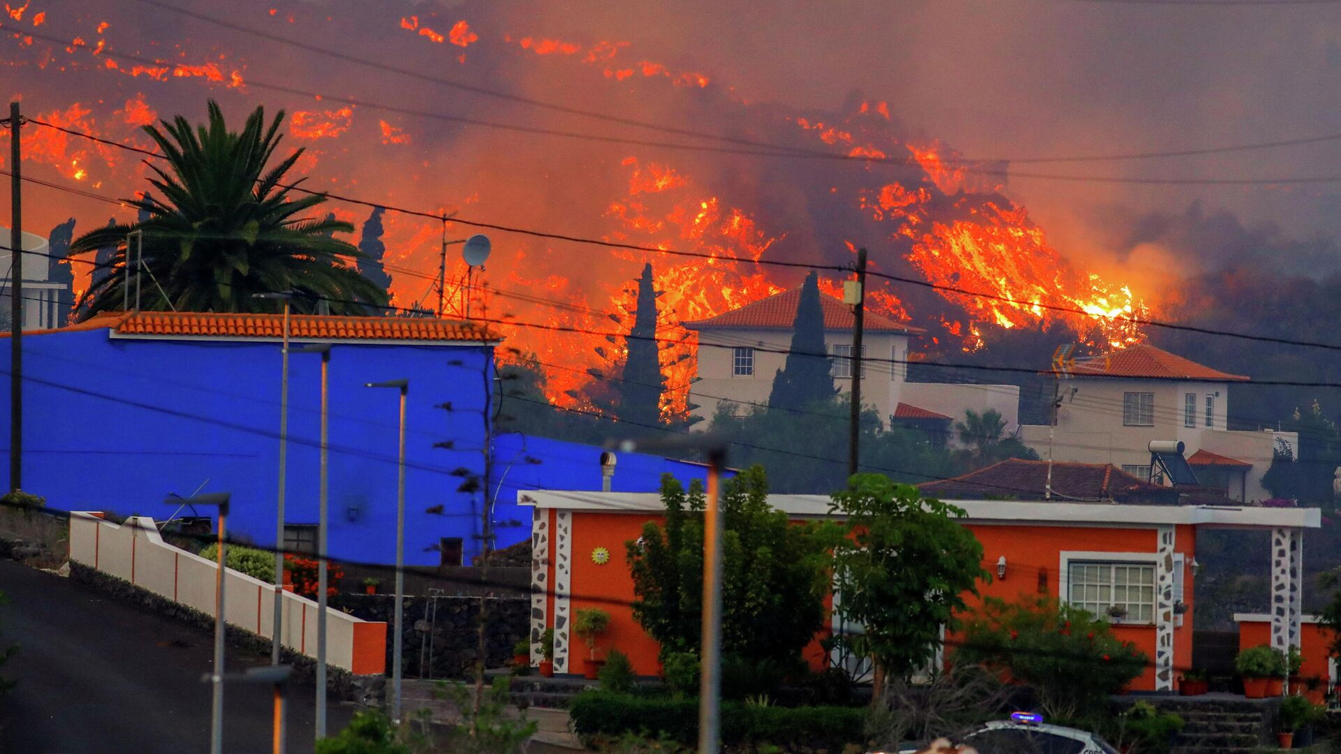 Vulkanausbruch auf La Palma, Spanien - SNA, 1920, 28.09.2021