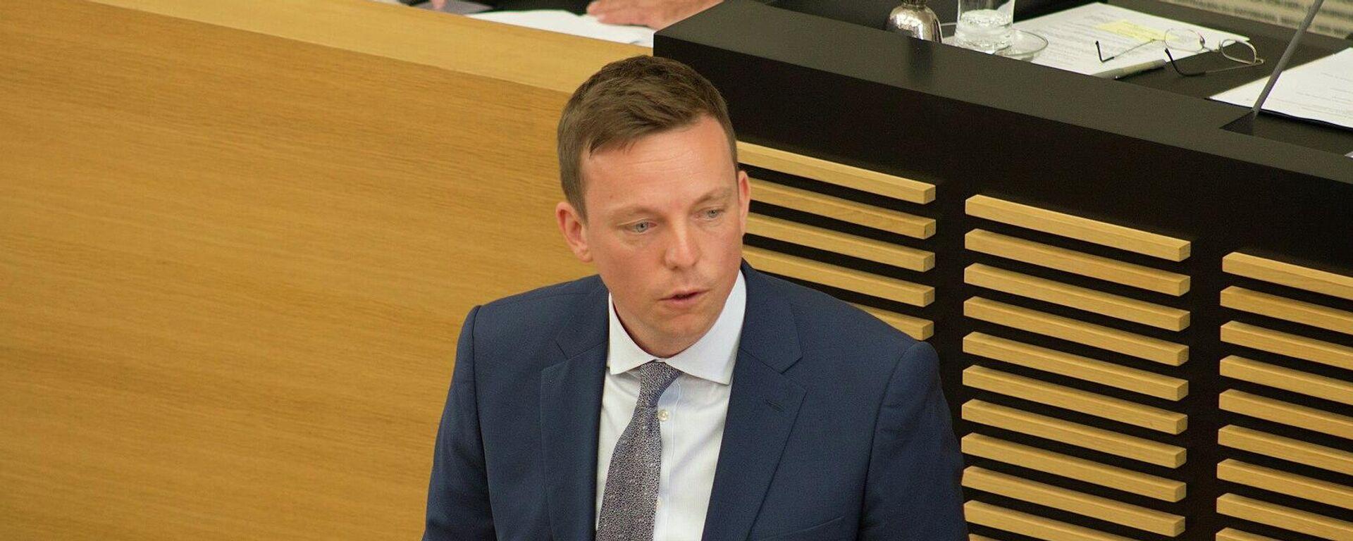Saarlands Ministerpräsident Tobias Hans (Archivbild) - SNA, 1920, 20.09.2021