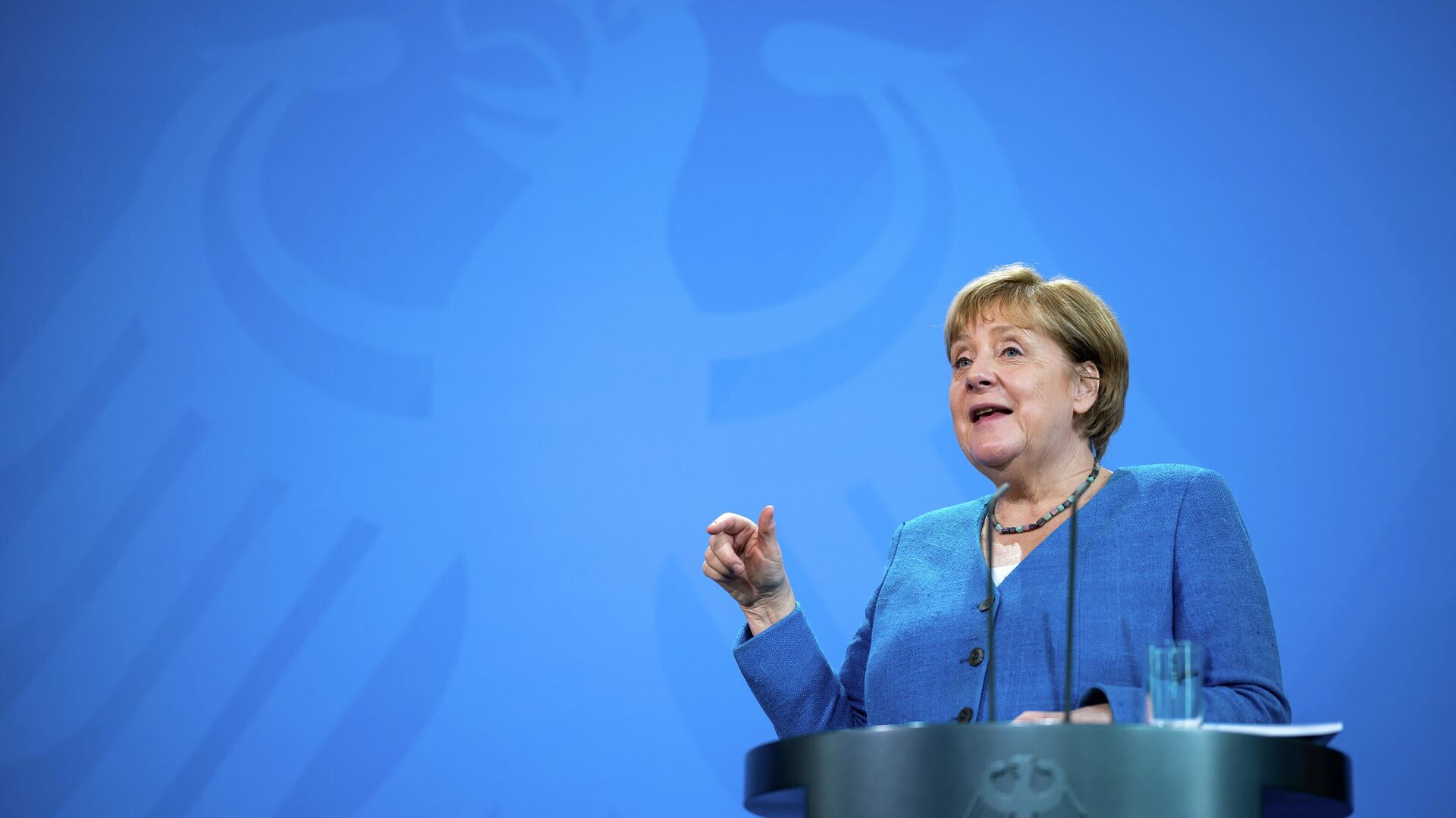 Bundeskanzlerin Angela Merkel - SNA, 1920, 20.09.2021