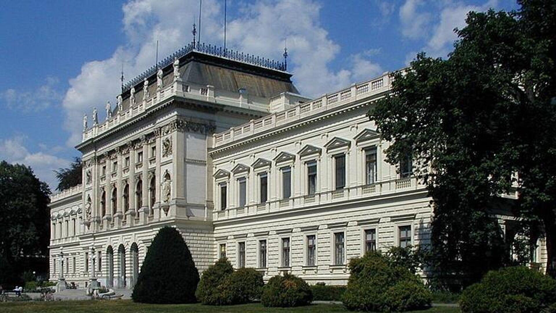 Fassade der Karl-Franzens-Universität in Graz - SNA, 1920, 26.09.2021