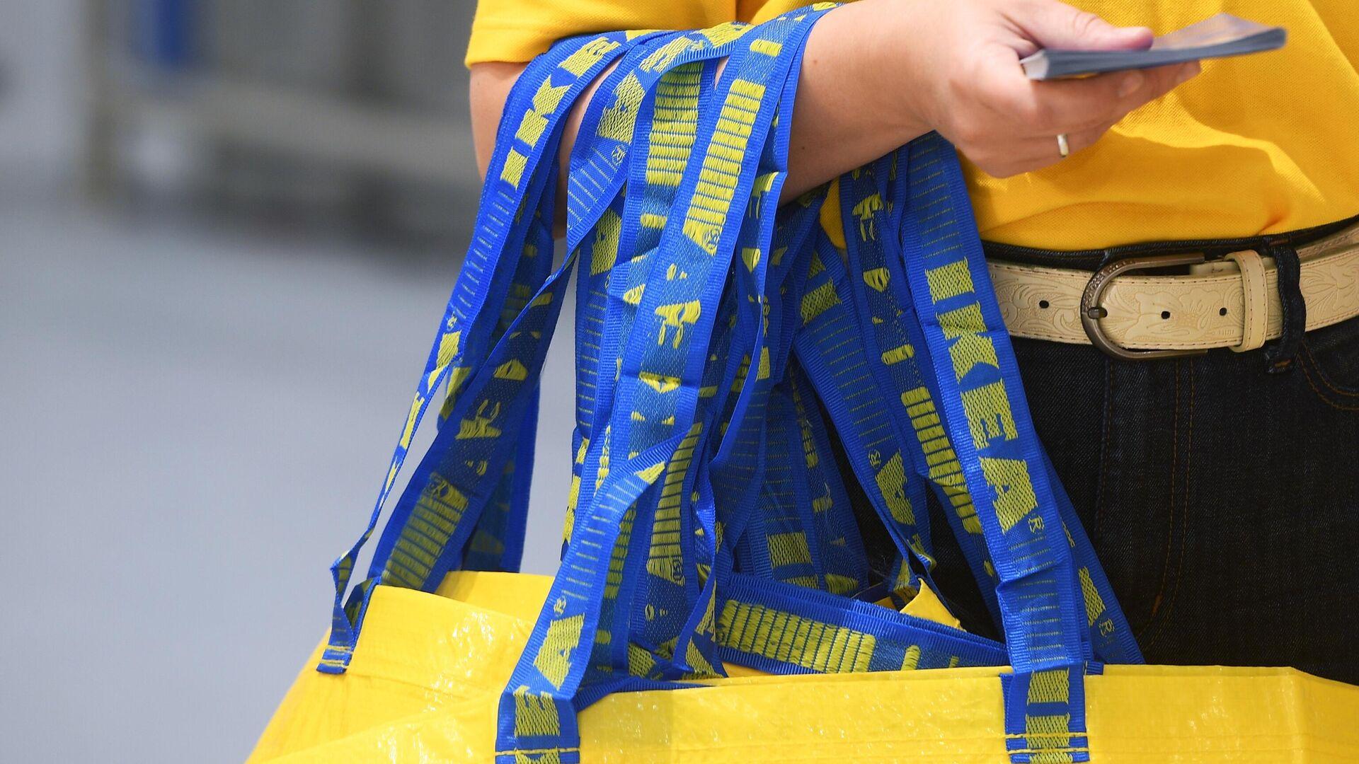 Eine Ikea-Mitarbeiterin (Archiv) - SNA, 1920, 21.09.2021