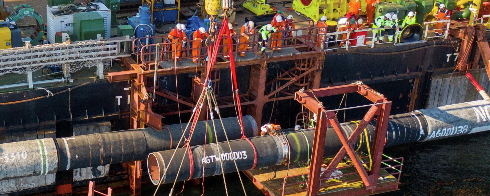 Die Fertigstellung von Nord Stream 2 - SNA, 1920, 21.09.2021