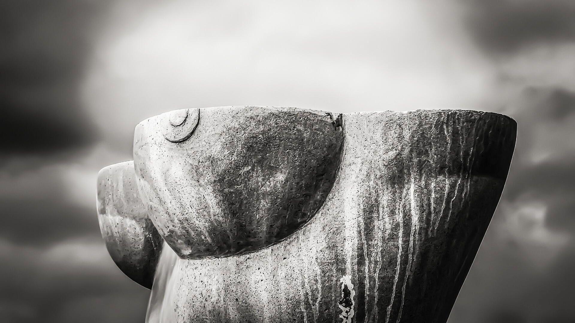Skulptur (Symbolbild) - SNA, 1920, 21.09.2021