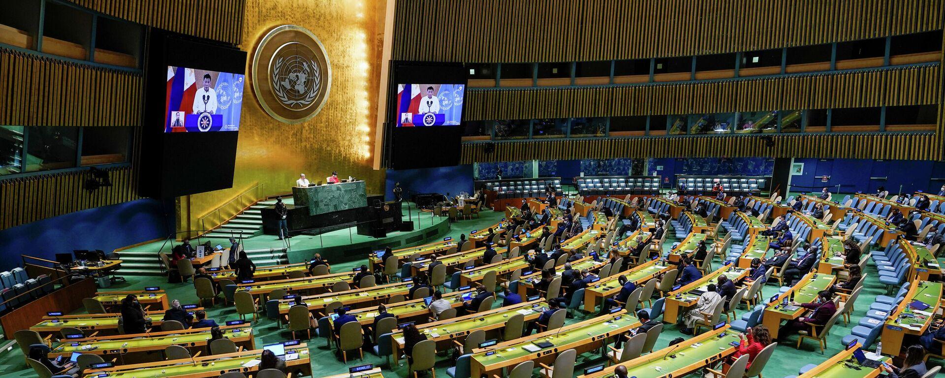 UN-Vollversammlung  - SNA, 1920, 22.09.2021