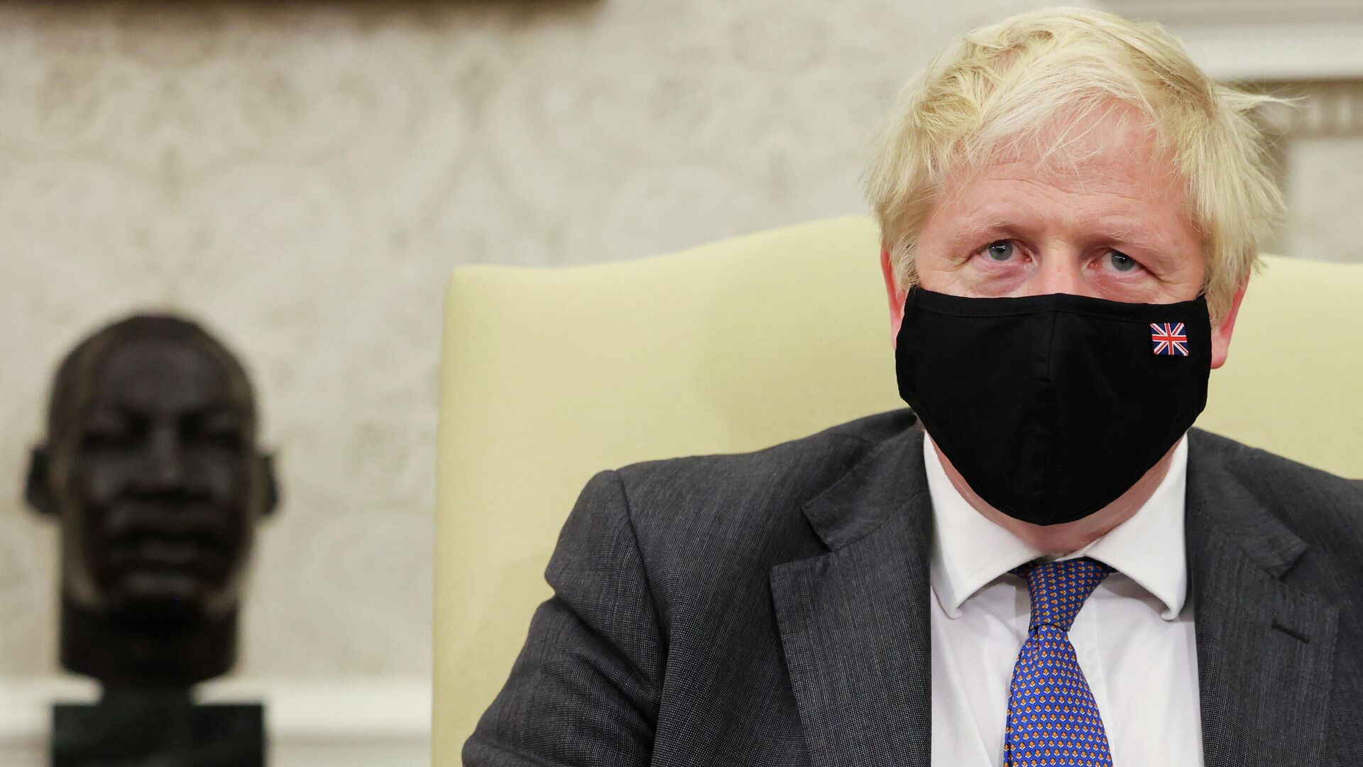 Der britische Premierminister Boris Johnson - SNA, 1920, 22.09.2021