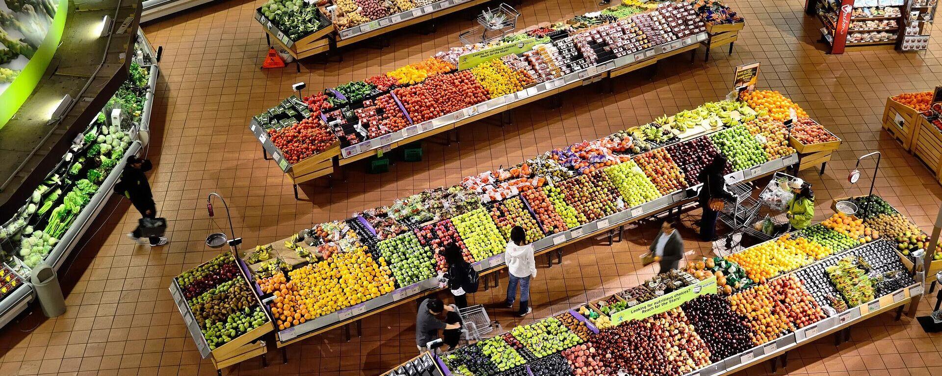 Supermarkt (Symbolbild) - SNA, 1920, 22.09.2021