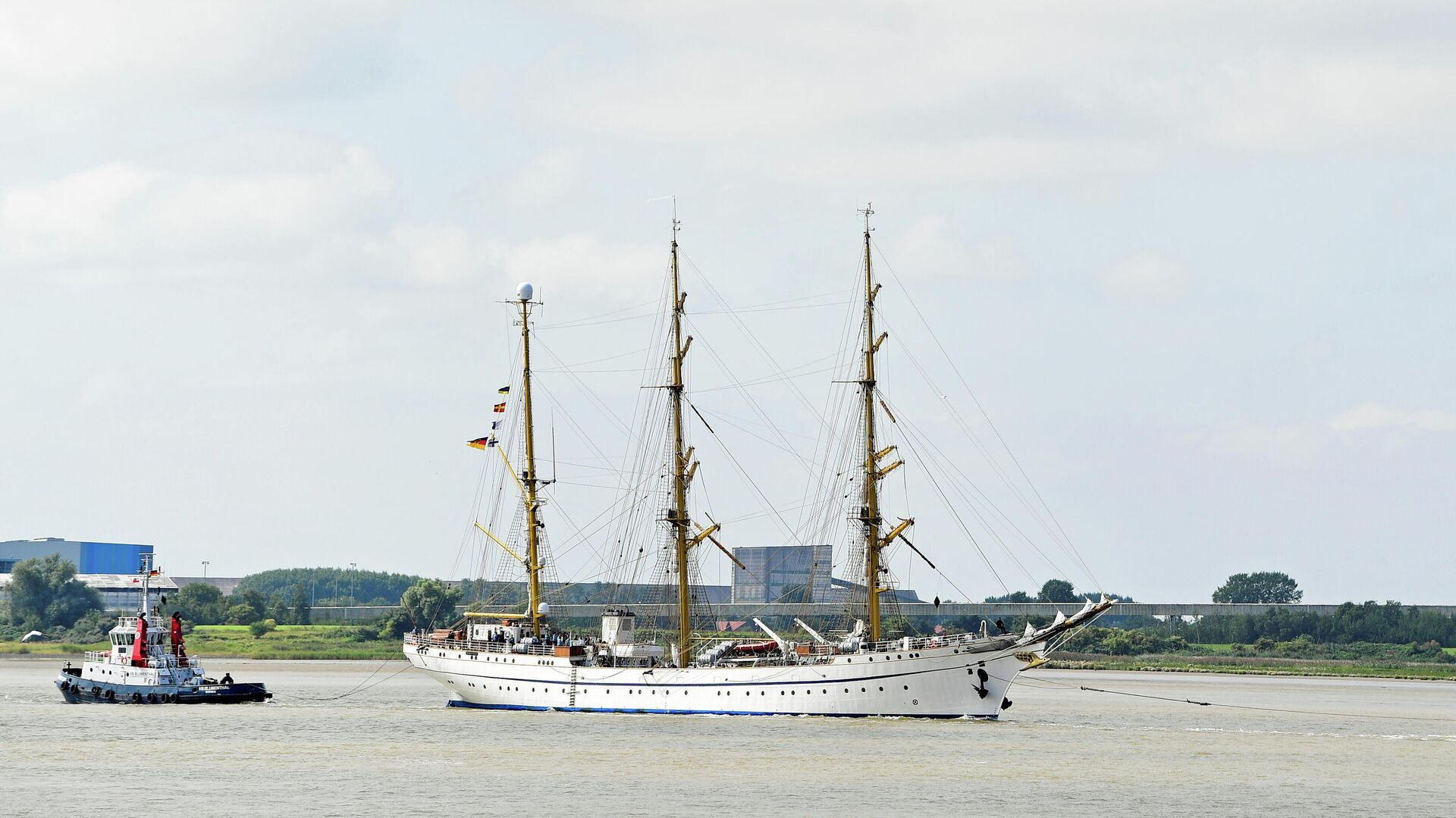 "Segelschulschiff ""Gorch Fock"" - SNA, 1920, 22.09.2021"