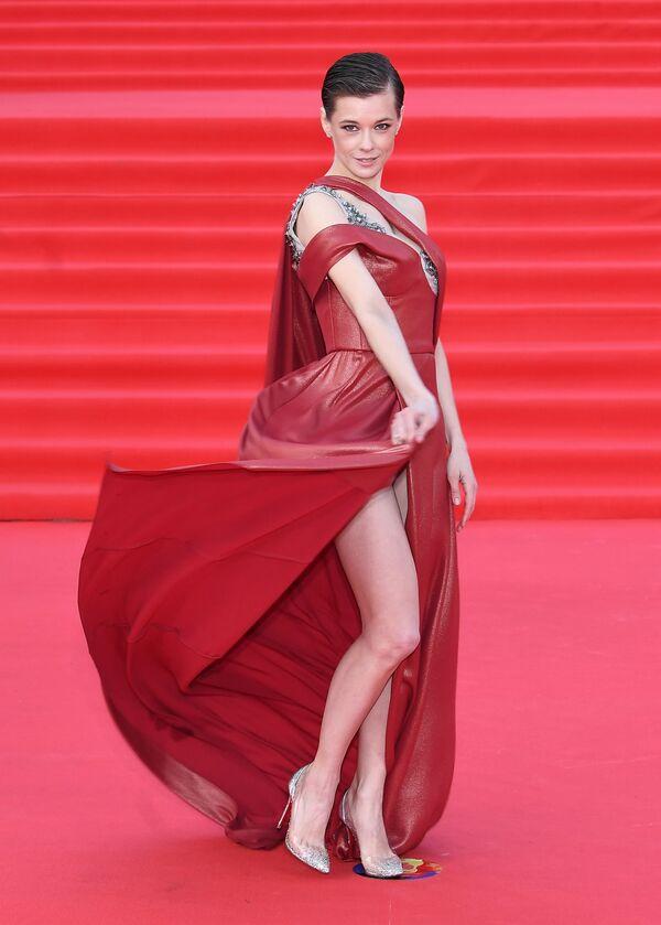 Jekaterina Spitsa (35) ist eine der populärsten russischen Schauspielerinnen. Schon in vielen TV-Projekten wirkte sie mit. Zunächst wollte sie Entertainerin werden, doch landete letztendlich in der Filmindustrie und ist häufig in TV-Serien zu sehen. - SNA