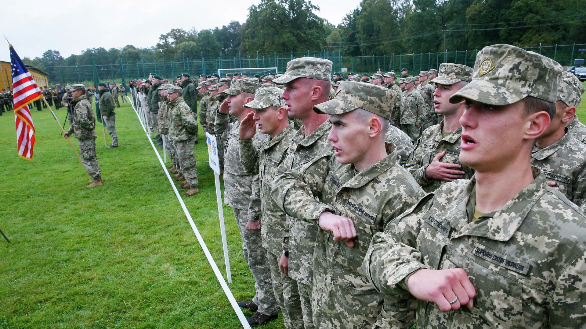 Ukraine startet Militärübungen mit Nato-Truppen  - SNA, 1920, 22.09.2021