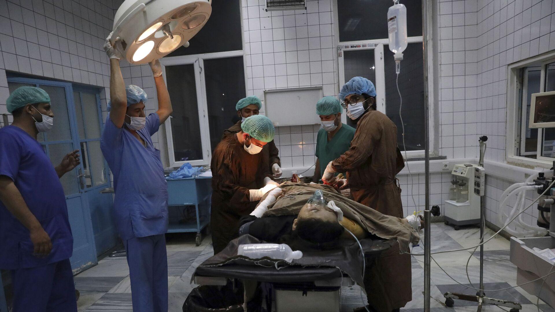 Ärzte in Kabul, Afghanistan - SNA, 1920, 22.09.2021