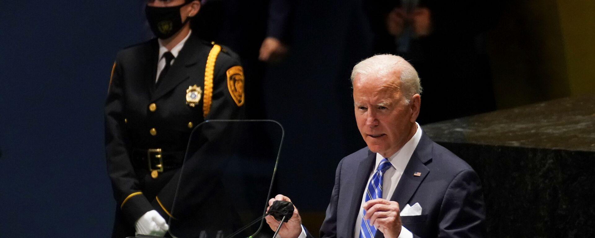 US-Präsident Joe Biden - SNA, 1920, 22.09.2021