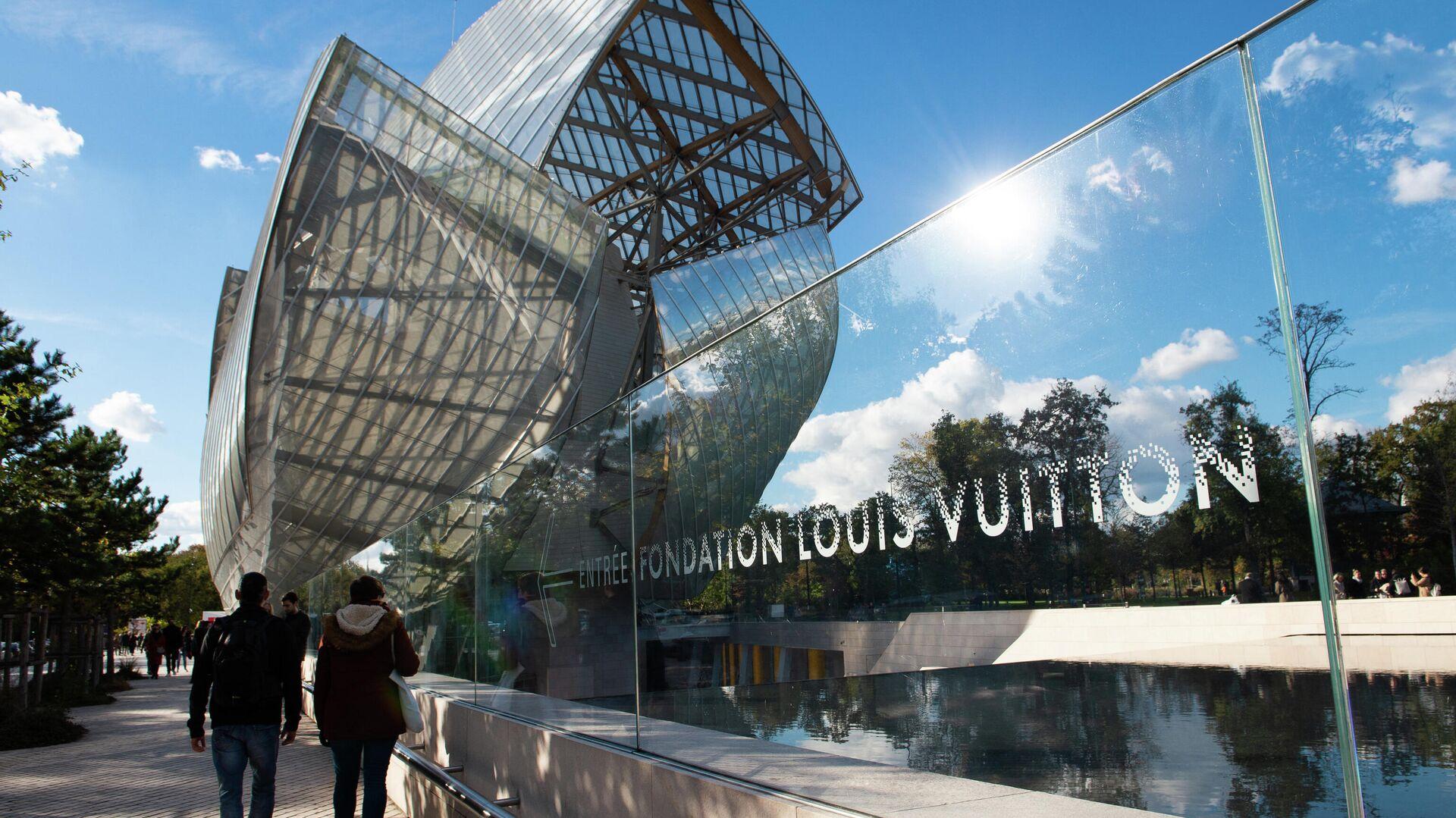 Die Fondation Louis Vuitton in Paris - SNA, 1920, 22.09.2021