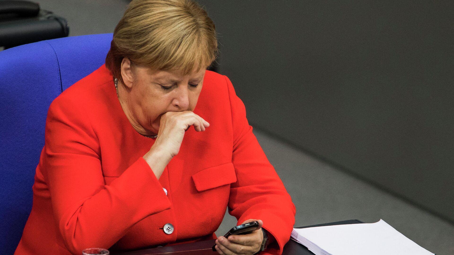 Angela Merkel (Archivbild) - SNA, 1920, 23.09.2021