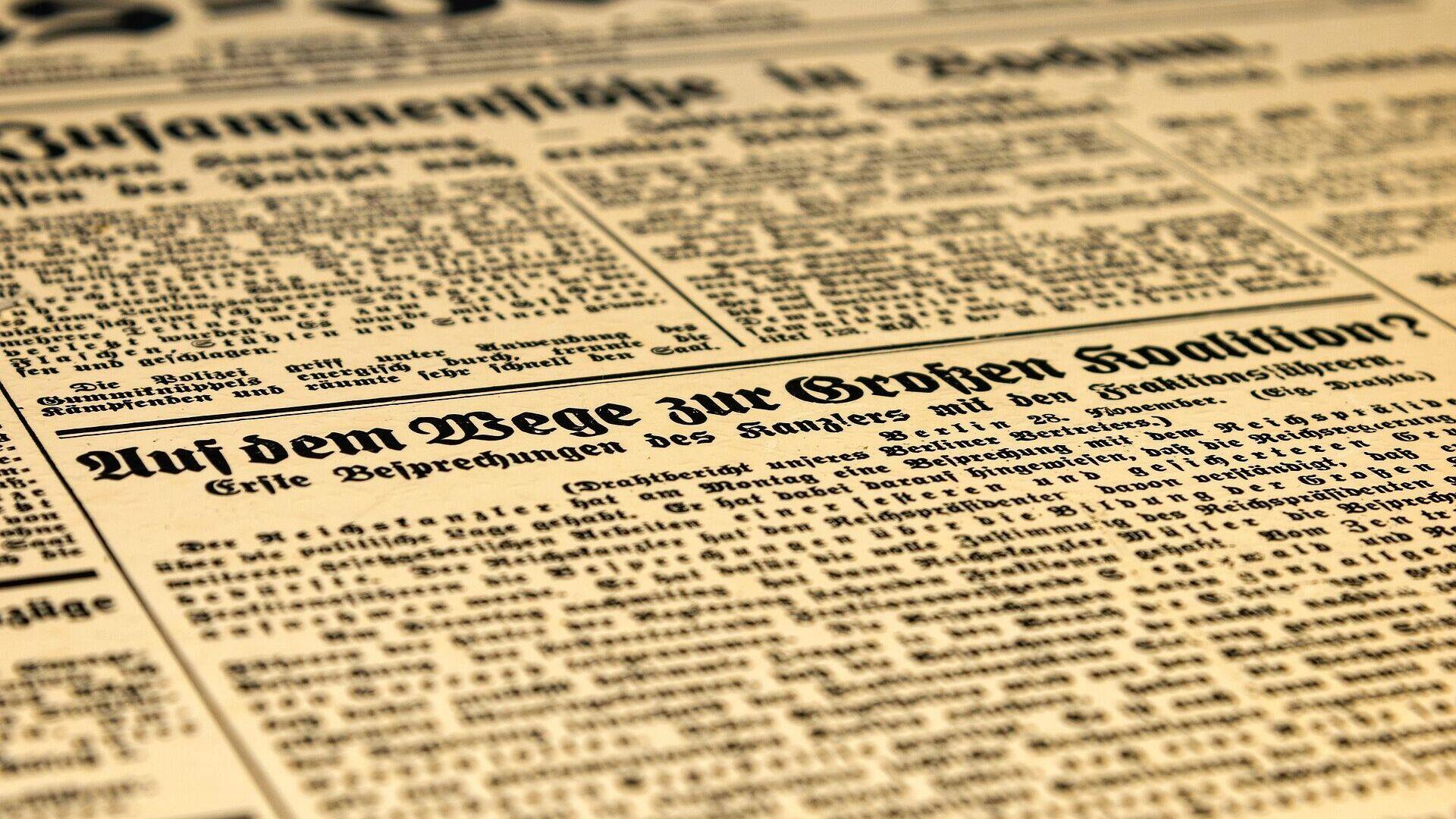 Zeitung - SNA, 1920, 23.09.2021