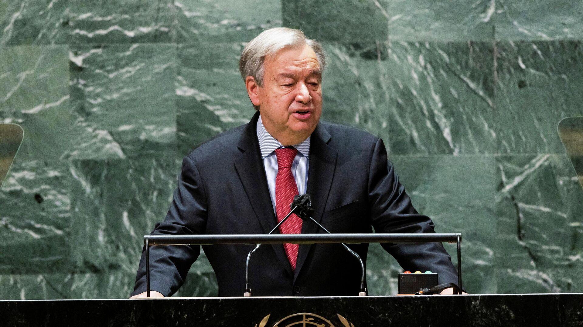 Der UN-Generalsekretär Antonio Guterres - SNA, 1920, 23.09.2021