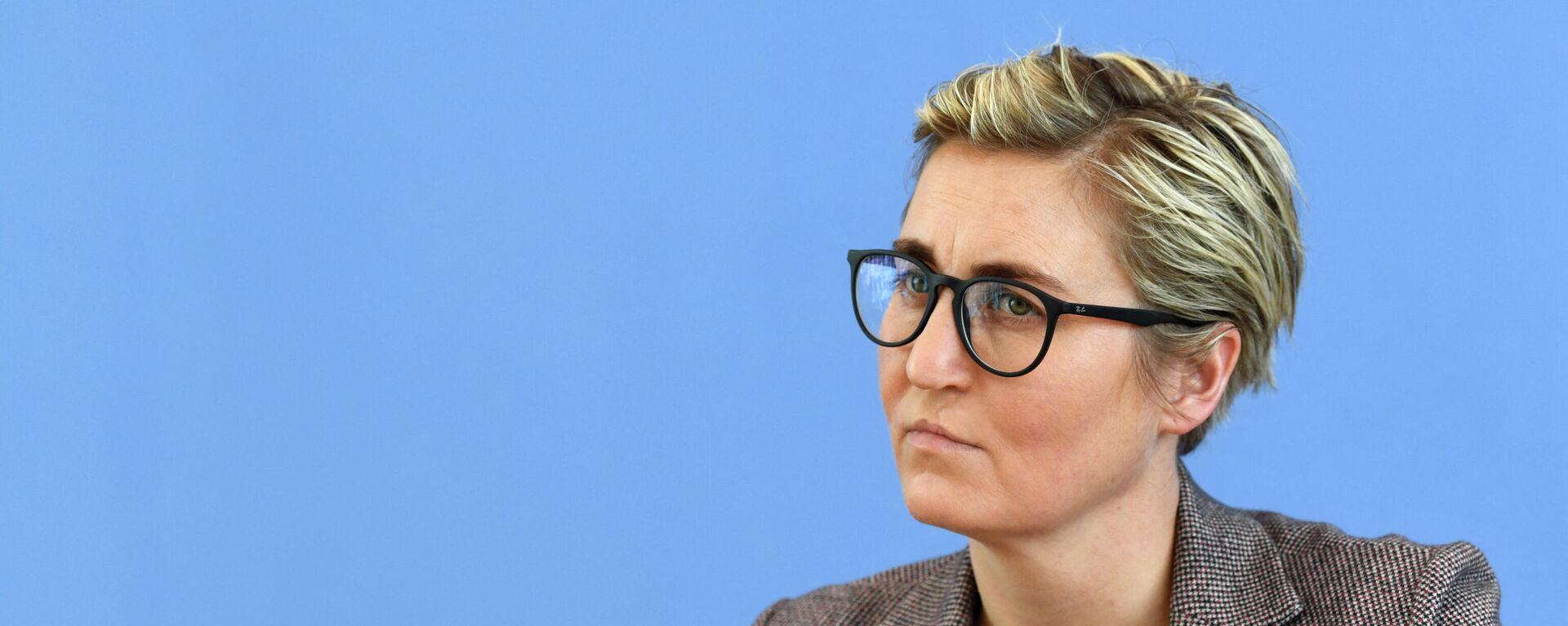 Die Linken-Co-Vorsitzende Susanne Hennig-Wellsow - SNA, 1920, 23.09.2021