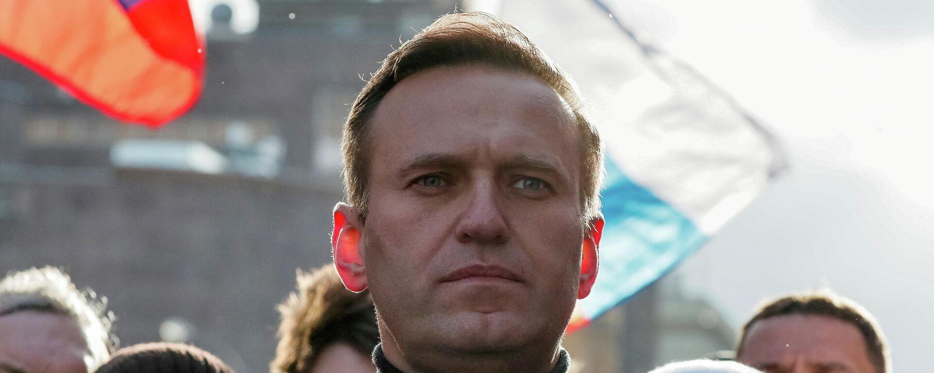 Der russische Oppositionspolitiker Alexej Nawalny - SNA, 1920, 23.09.2021