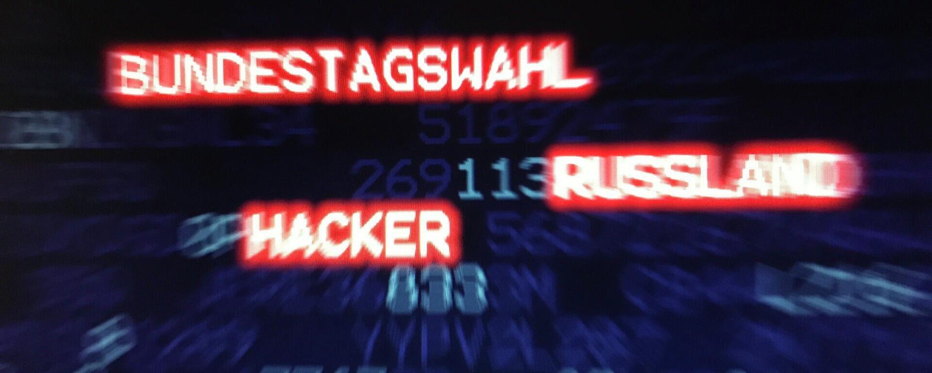 Hackerangriff (Symbolbild) - SNA, 1920, 24.09.2021