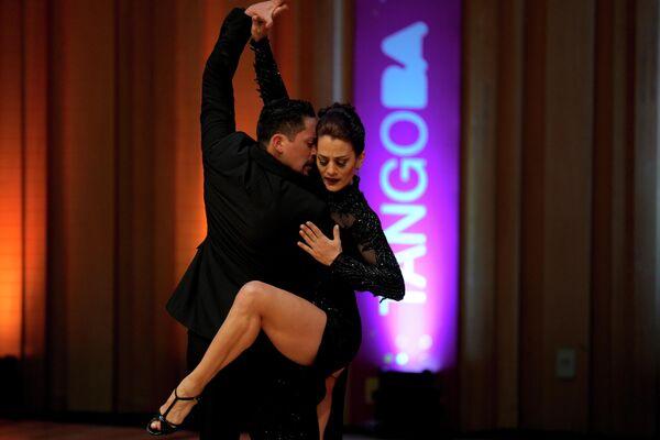 Teilnehmer der Tango-WM in Buenos Aires. - SNA